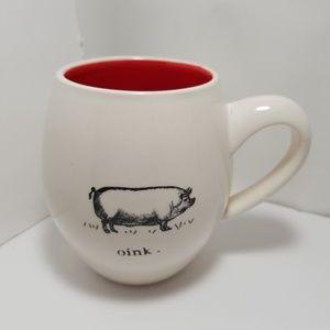 Rae Dunn Oink Mug by Magenta
